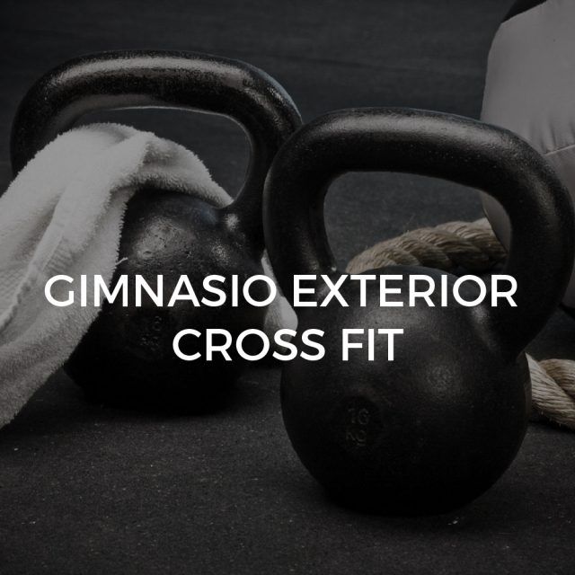 Gimnasio exterior Cross Fit