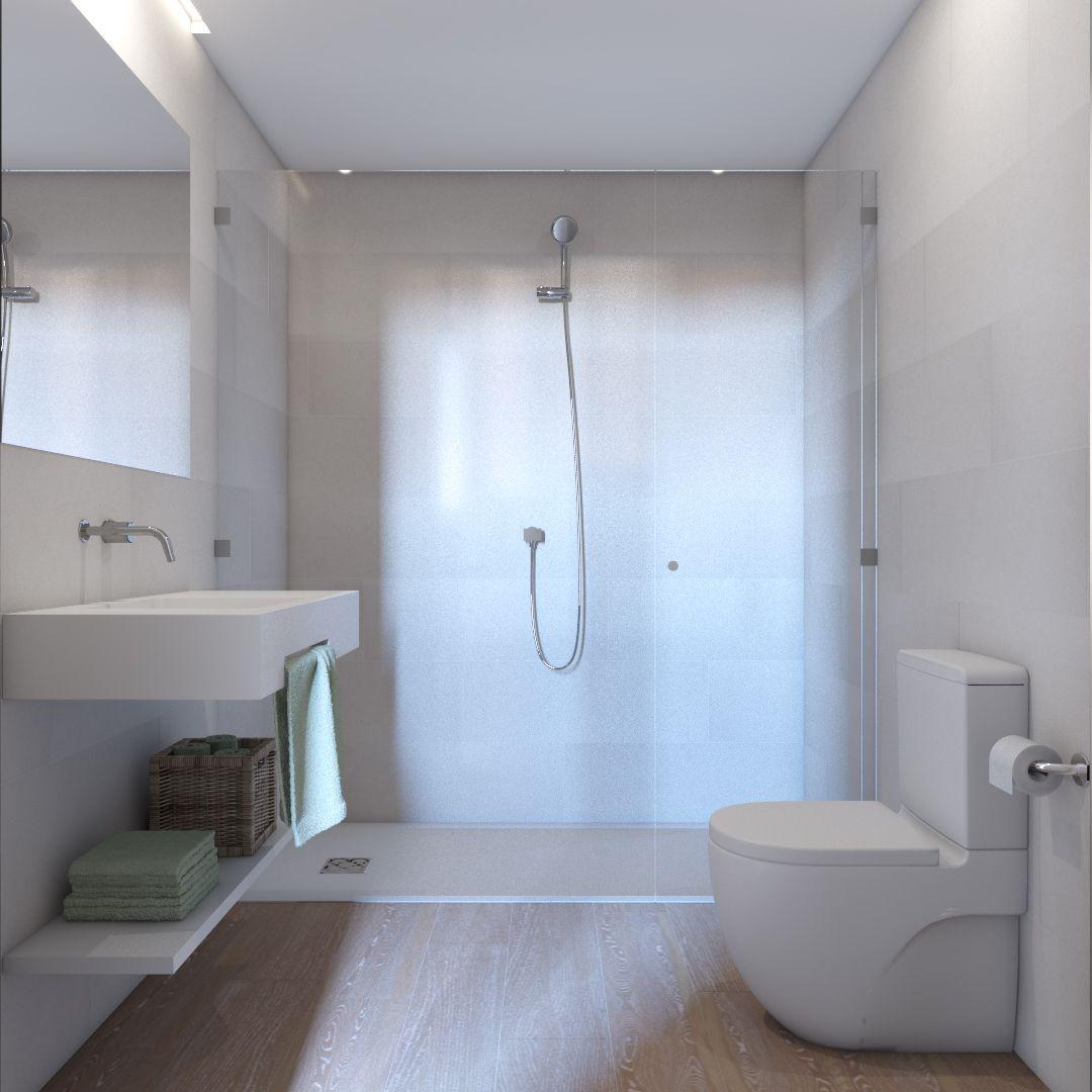 baño residencia estudiantes barcelona The Lofttown