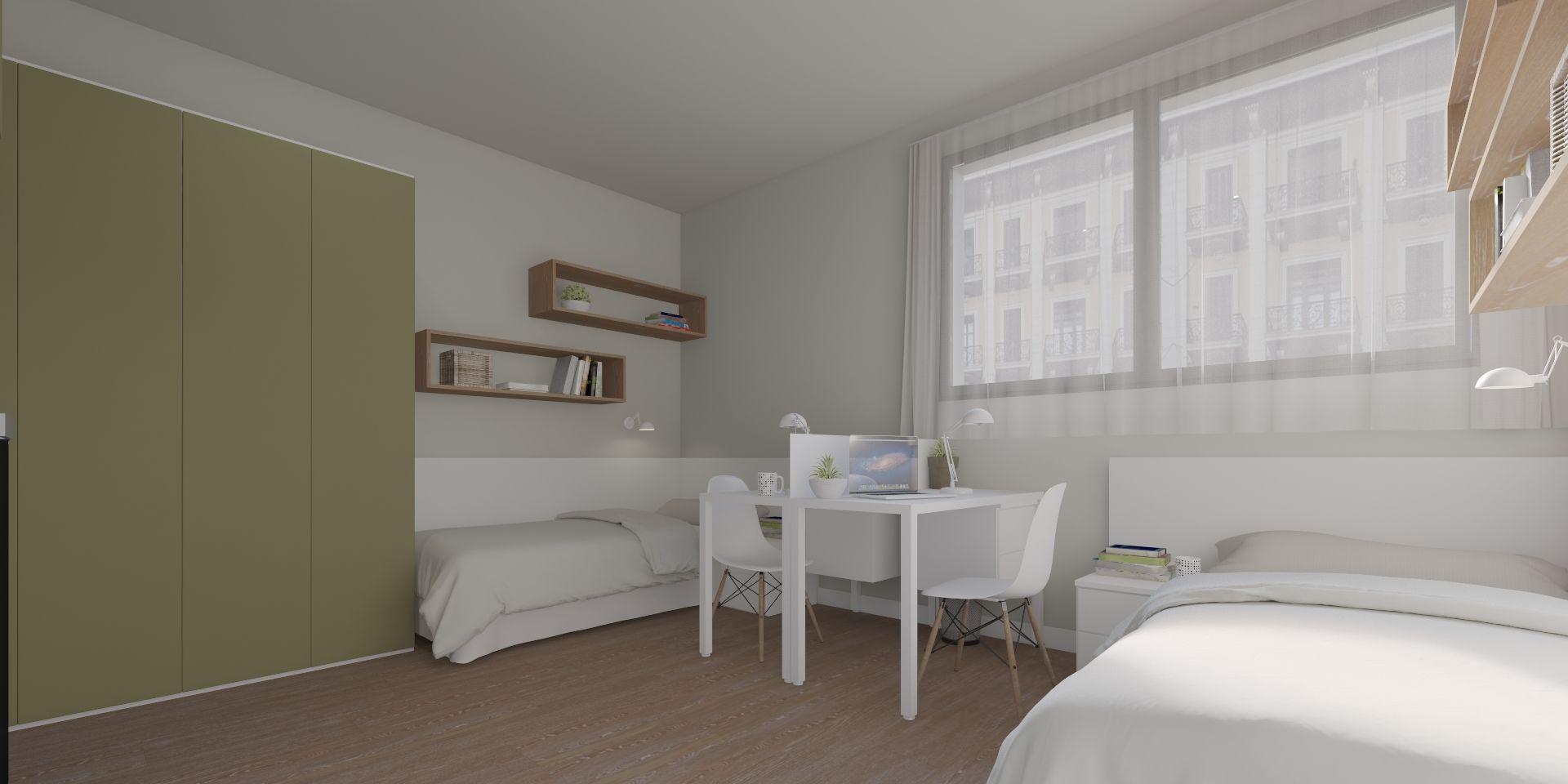 Estudio doble XL con terraza
