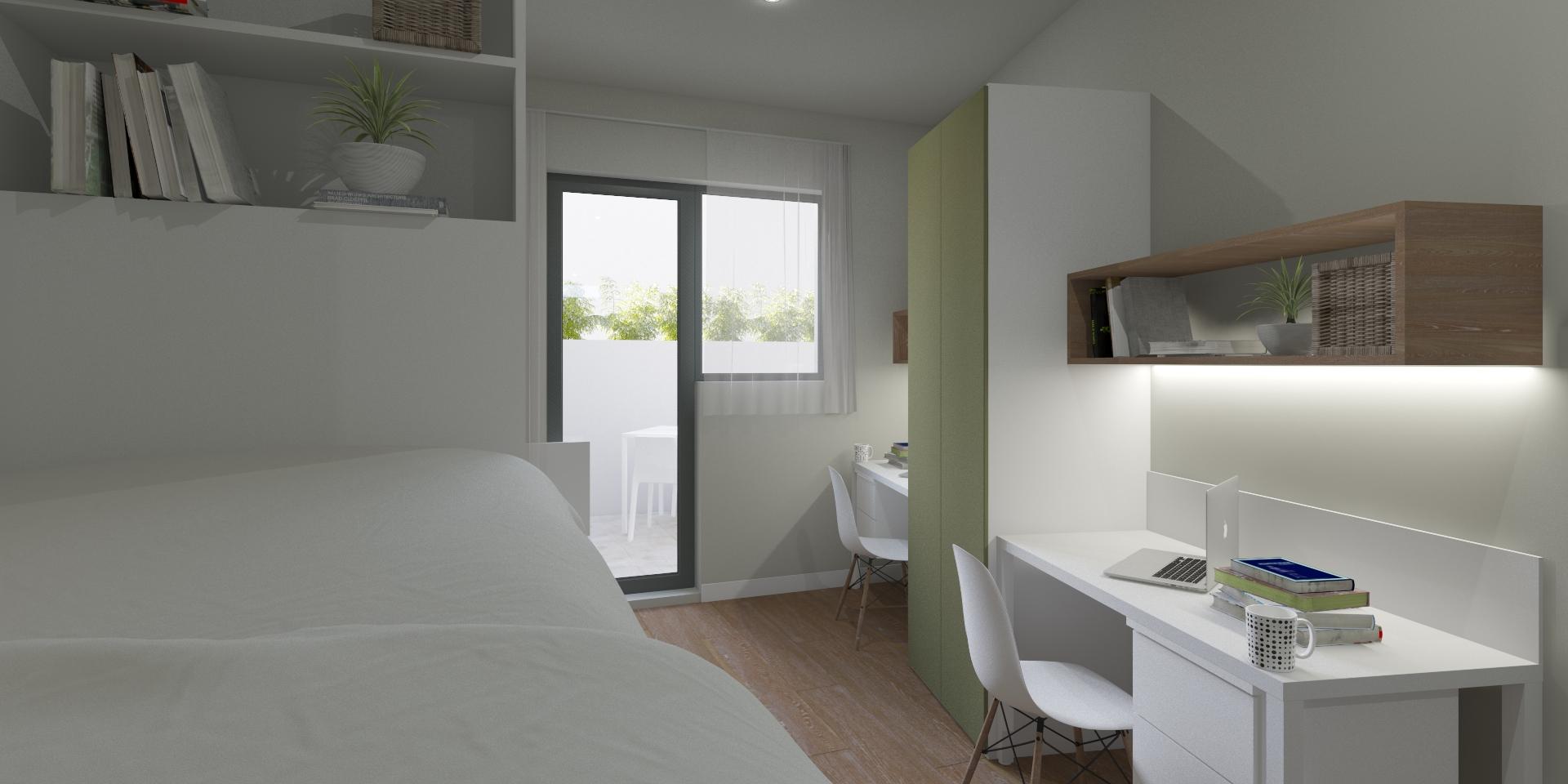 Habitación Doble con terraza privada