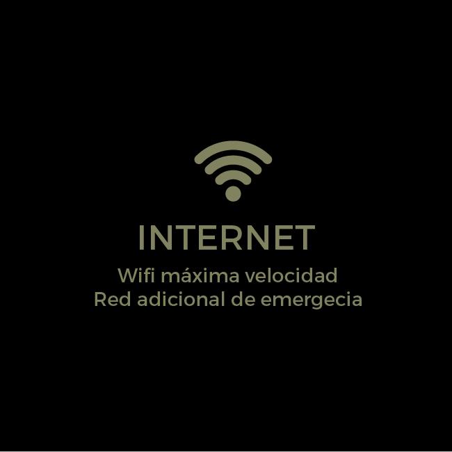 Internet - Wifi de máxima velocidad