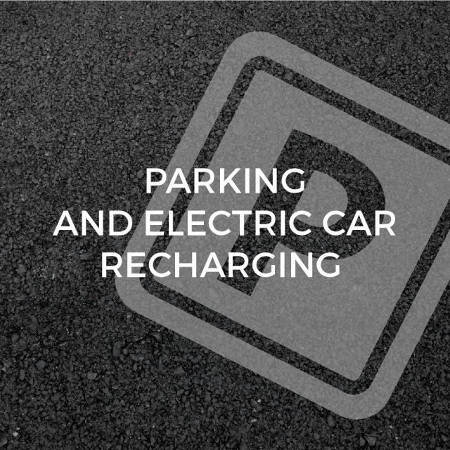 Parking and electric car recharging