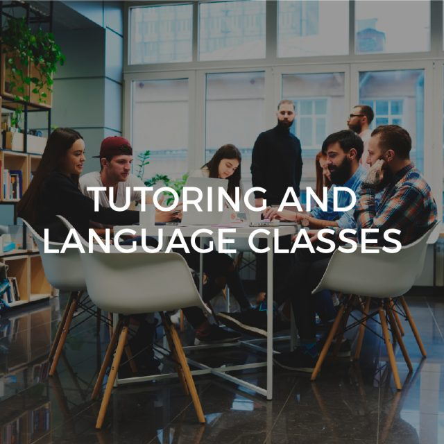 Tutoring and language classes