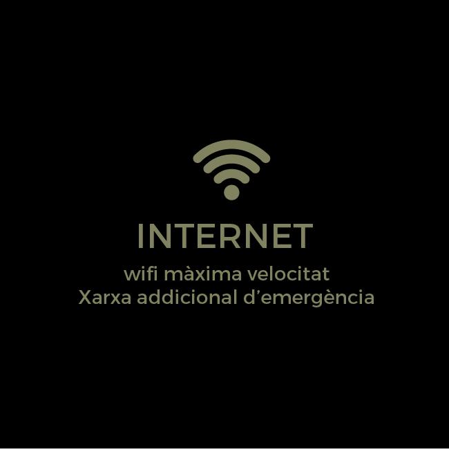 Internet - Wifi de màxima velocitat