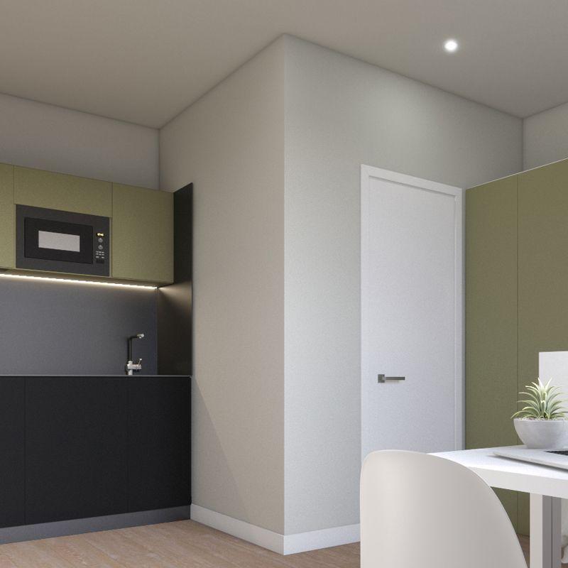 student housing barcelona - room